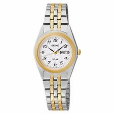Seiko Ladies Solar Two Tone Watch SUT116P9 NEW