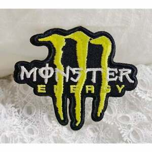 Iron on patch:Monster energy drinks -A2