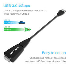USB 3.0 to VGA Monitor Cable Adapter Video Multi-Display External Graphic Card
