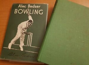 ALEC AND ERIC BEDSER SIGNED AUTOGRAPHED Our Cricket Story & BOWLING
