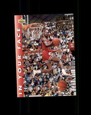 Michael Jordan 1996 Topps #33 In Your Face Italian!!! (R)