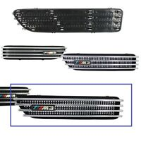 2 GRILLE D'AILE M3 + SUPPORTS POUR BMW SERIE 3 E46 COUPE M3