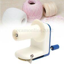 Plastic Home Winder Machine Knitting Yarn Fiber Wool String Ball Hand Operated