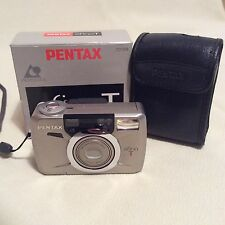 Pentax Efina T Corpo in metallo camera zoom APS