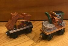 Thomas & Friends Wooden Railway Train Tank Engine - Scrap Monster 2012 EUC 2 Pcs