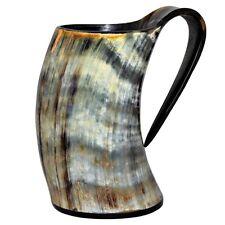 Viking Drinking Spacial Horn Mug Real Handmade Horn Mug Beer & Wine Horn Mug