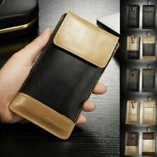 Para Samsung Galaxy Exterior Carcasa Funda Protectora Cubierta Cuero Sintético