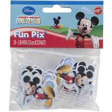 Mickey Mouse Clubhouse Cupcake/Cake FunPix Set of 24/Wilton