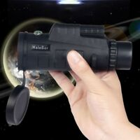 35X50 HD Night Vision Prism Zoom Scope Hunting with Compass Monocular Telescope