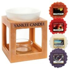 Yankee Candle Wax Melt Burner Rustic Modern Terracotta Effect Suround Indor
