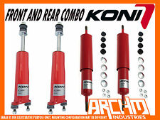 KONI ADJUSTABLE F & R SHOCK ABSORBERS- LOWERED FOR FORD FALCON XR XT XW XY