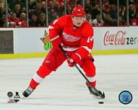 "Gustav Nyquist Detroit Red Wings NHL Action Photo (Size: 8"" x 10"")"