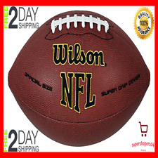 Wilson Nfl Super Grip Official Size American Football Ball Rugby