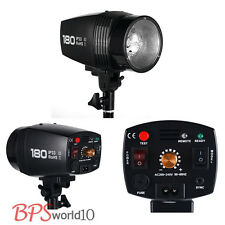Pro 180W 180WS Photo Studio Strobe Flash head Monolight Lighting UK Earthed