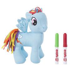 Nuevo 20cm Mi Pequeño Pony Rainbow Dash Blanda Juguete Garabato me