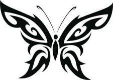 LARGE girls Car Bonnet Tribal Butterfly Vinyl Graphic side Sticker wall art fun