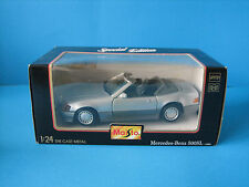 Mercedes-Benz 500 SL 1989 1/24 Special Edition Silver Mint in Box