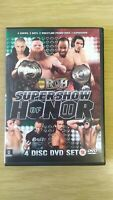 ROH/PCW Supershow Of Honor 2 Wrestling Dvd WWE WWF ECW 4 Disc Set rare