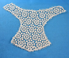 1 CREAM LACE SEW ON EMBELLISHMENT EMBROIDERY APPLIQUE 280mm x 230mm  HL419