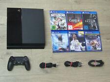 Sony PS4 Konsole 500GB + Original Controller + Gratis Spiel - Playstation 4