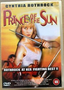 Prince of the Sun DVD 1990 Martial Arts Action Film Movie with Cynthia Rothrock
