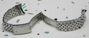 Rolex Jubilee Folded Link Bracelet Big Logo 55 End Link OLD GMT 1675 & EXPLORER