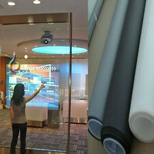 TransparentSelf Adhesive Holographic Rear Projection Screen Material Window Film
