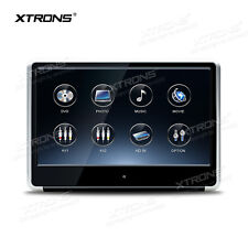 "11.6"" Silver HD 1080P Video DVD Player Rear Seat Headrest HDMI/USB/SD/FM/IR/GAME"