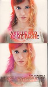 Axelle Red Je Me Fache CD PROMO digipack