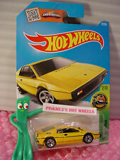Case L 2016 i Hot Wheels Lotus Esprit S1 #72✰Yellow; asw 5sp✰Hw Exotics
