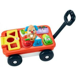 Fisher-Price Laugh & Learn Pull & Play Learning Wagon GCV97 FREE SHIPPING