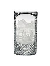 Waterford Carol Singers Engraved Oval Vase