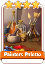 Painters Palette Coin Master Card (Fast delivery)