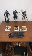 DC Multiverse McFarlane Collect to Build Batmobile (Nightwing, Batgirl, Batman)
