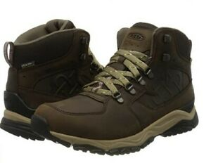 KEEN Men's Root Brown High Rise Hiking Shoes 6  UK