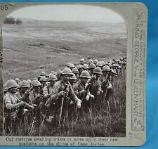 WW1 Stereoview Reserves Awaiting Orders To Move On Cape Helles Gallipoli