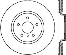 Disc Brake Rotor-High Carbon Alloy Brake Disc Front Centric 125.42100