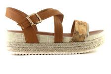 38 Sandali e scarpe con tacco medio (3,9-7 cm) per il mare da donna 100% pelle
