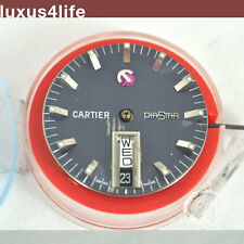 luxus4life: Cartier Diastar Blatt/Werk Rarität Blau 1970ties - Collectors Item