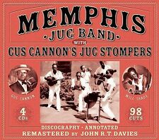 NEW Memphis Jug Band with Gus Cannon's Jug Stompers (Audio CD)