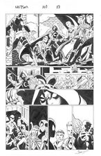Ultimate Spiderman Original comic art published interior page by Mark Bagley