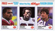 1982 Minnesota Vikings football errors complete set