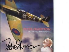 Thank You Mr. Churchill by Peter Frampton cd signed autographed by artist