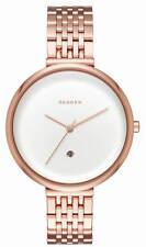 Skagen SKW2421 Women's Gitte Rose Gold-tone Stainless Steel Watch Brand New