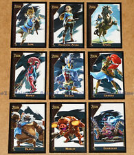 The Legend of Zelda Exclusive Card set of 9 Epona Link Mipha Revali BOTW