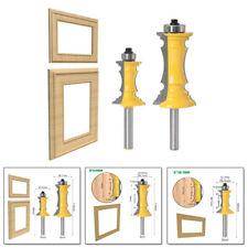 Shank Miter Frame Molding Router Bit Drawers Door Wall Panel Cutting Supplies