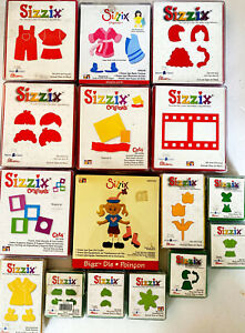 Big Lot of SIZZIX DIES ~ Assorted Pre-Owned