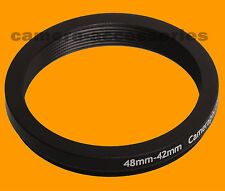 48mm to 42mm 48-42 Stepping Step Down Filter Ring Adapter 48-42mm 48mm-42mm