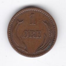 More details for 1889 denmark 1 ore | pennies2pounds