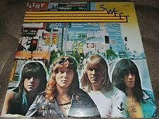 SWEET Desolation Boulevard  LP Album Vinyl Record CAPITOL Green Label SN-16287